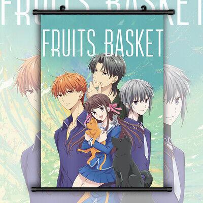 fruits basket hd print anime wall poster scroll room decor ebay