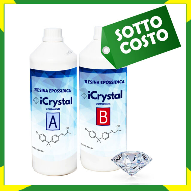 resine epoxy ultra transparente kg1 6 bi composant a b super transparent eau