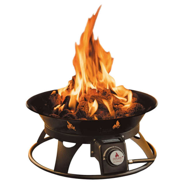 OUTLAND Firebowl Cypress Outdoor Firepit Carry Kit ... on Outland Living Cypress Fire Pit id=91499