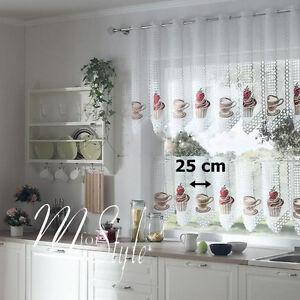 details sur cuisine cafe filet rideau cafe cupcake largeur vendu par metre goutte 20 ou 28 afficher le titre d origine