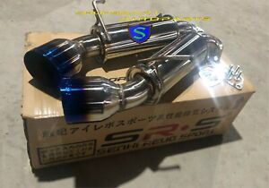 details about srs axleback exhaust for nissan nismo 370z z34 base 09 19 3 7l 4 5 burnt tips