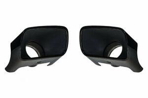 details about mopar rear black chrome exhaust tips set of 2 15 18 dodge challenger 6 2l 6 4l