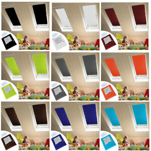 details about 100 blackout blind curtains suction cups thermal for roof windows sucker