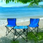 Set Of Folding Chairs And Table Outdoor Camping Portable Beach Picnic Fishing For Sale Online Ebay