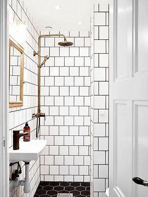 6x6 white glossy ceramic subway tile shower wall backsplash made in usa box 50 ebay