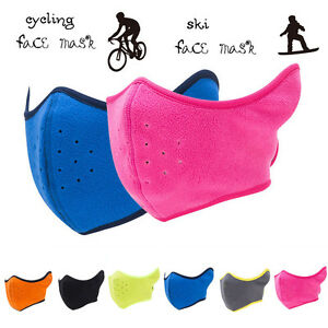 Outdoor Unisex Breathing Mask Anti-Wind Face Mouth Cover For Cycling Bike US