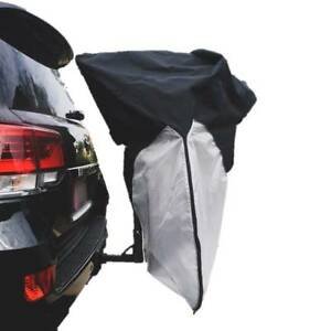 details about hitch mount bike rack travel cover rv truck suv car covers 1 bike hanging