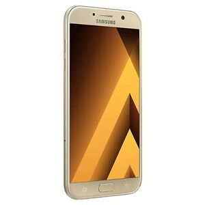 Samsung Galaxy A7 2017 A720F DUALSIM 4GLT 32GB GOLD SAND FACTORY UNLOCKED PHONE