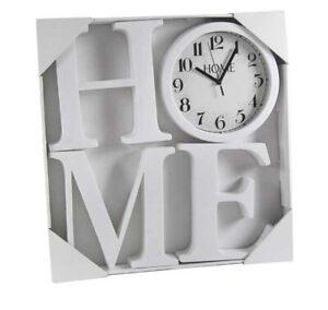 Tutti gli orologi da parete sono disegnati e realizzati artigianalmente da calleadesign. Orologio Da Parete Moderno Home Orologi Da Muro Lettere 23cm Per Casa Bar 4 Pz Ebay