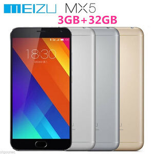 Meizu MX5 RAM 3GB ROM 16GB&32GB LTE 4G Octa Core Mobile Phone 20.7MP Dual SIM