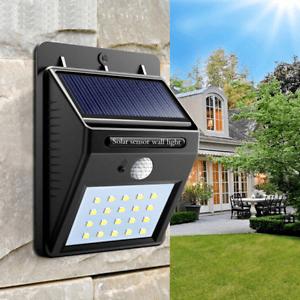 details about lamparas focos solares para el hogar para la pared patio jardin estacionamiento