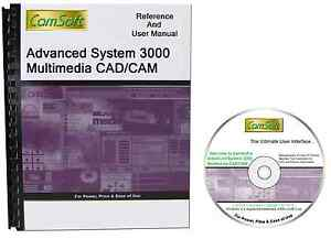 AS3000 3D Level 1 CAD/CAM Software by CamSoft