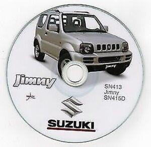 Suzuki Jimny Werkstatthandbuch  Workshop Manuell | eBay