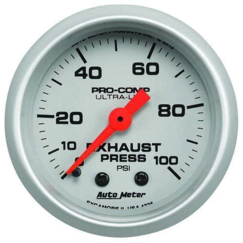 auto meter exhaust pressure gauge 0 100psi ultra lite auto parts accessories tu berlin motors