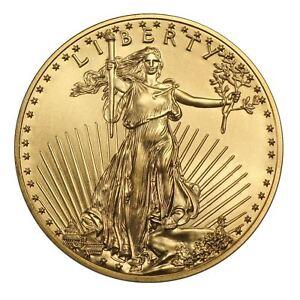 1 oz Gold American Eagle | Random Date US Mint Coin