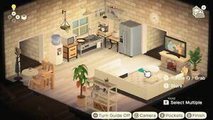 Animal Crossing Living Room White Furniture Set | eBay on Animal Crossing New Horizons Living Room  id=32834