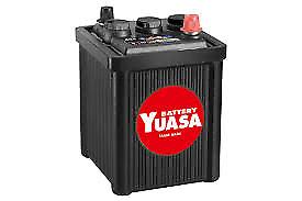 Yuasa Yua421 Vintage 80ah 600cca 6v Type 421 Car Battery 2 Yr W Austin 7 Eu80 6 Ebay