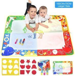 details sur tapis aquadoodle dessin coloriage jeu jouet educatif enfant lavables a l eau