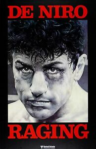 details about raging bull robert de niro classic boxing movie poster a1a2a3a4sizes