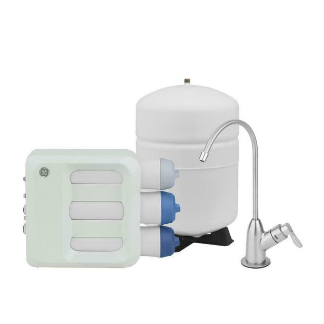 ge reverse osmosis water filtration system white gxrq18nbn