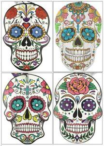 Sugar Skull Dia De Los Muertos Day Of The Dead Hanging Decor 4 Designs Ebay