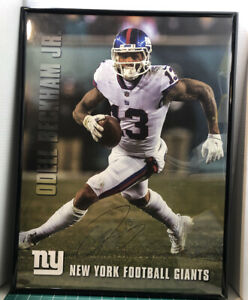 details about odell beckham 16x20 autographed poster