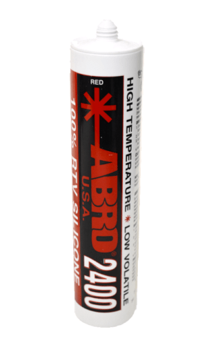 abro exhaust sealant cartridge red rtv silicone ss2400
