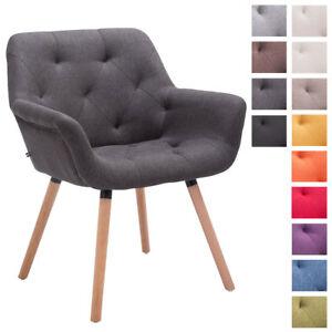 details sur chaise scandinave cassidy tissu pieds bois nature chene chaise de salle a manger