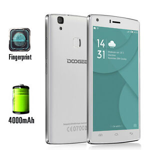 """DOOGEE X5 MAX Pro 5"""" Unlocked Smartphone 4G LTE Android 6.0 2G+16G 8MP Touch ID"""