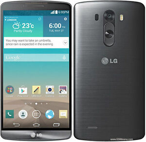 "Original LG G3 D855 - 16GB - Black Factory (Unlocked) Smartphone Quad Core 5.5"""