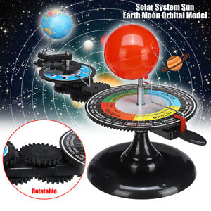 Solar System Sun Earth Moon Orbital Planetarium Model ...