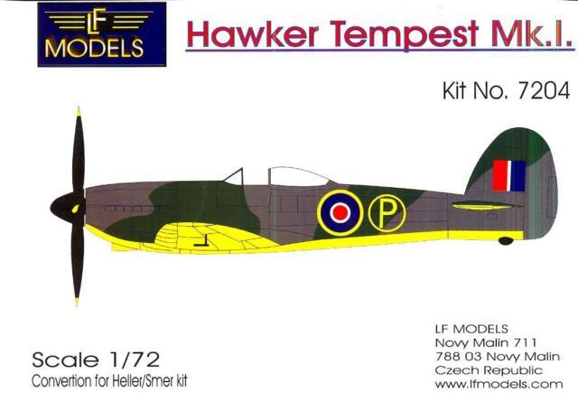 Resultado de imagen de Hawker tempest model kit