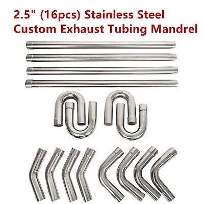 universal 2 5 2 25 custom exhaust tubing mandrel bend pipe straight u bend kit ebay