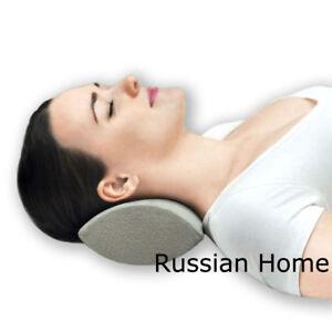 details about original lumbar roll cervical support spinal neck pillow mckenzie