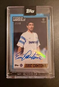 Find many great new & used options and get the best deals for topps the lost rookie eric cantona card marseille auto autograph /49 rc at the best online. Topps The Lost Rookie Eric Cantona Auto 37 49 Marseille Manchester United Ebay