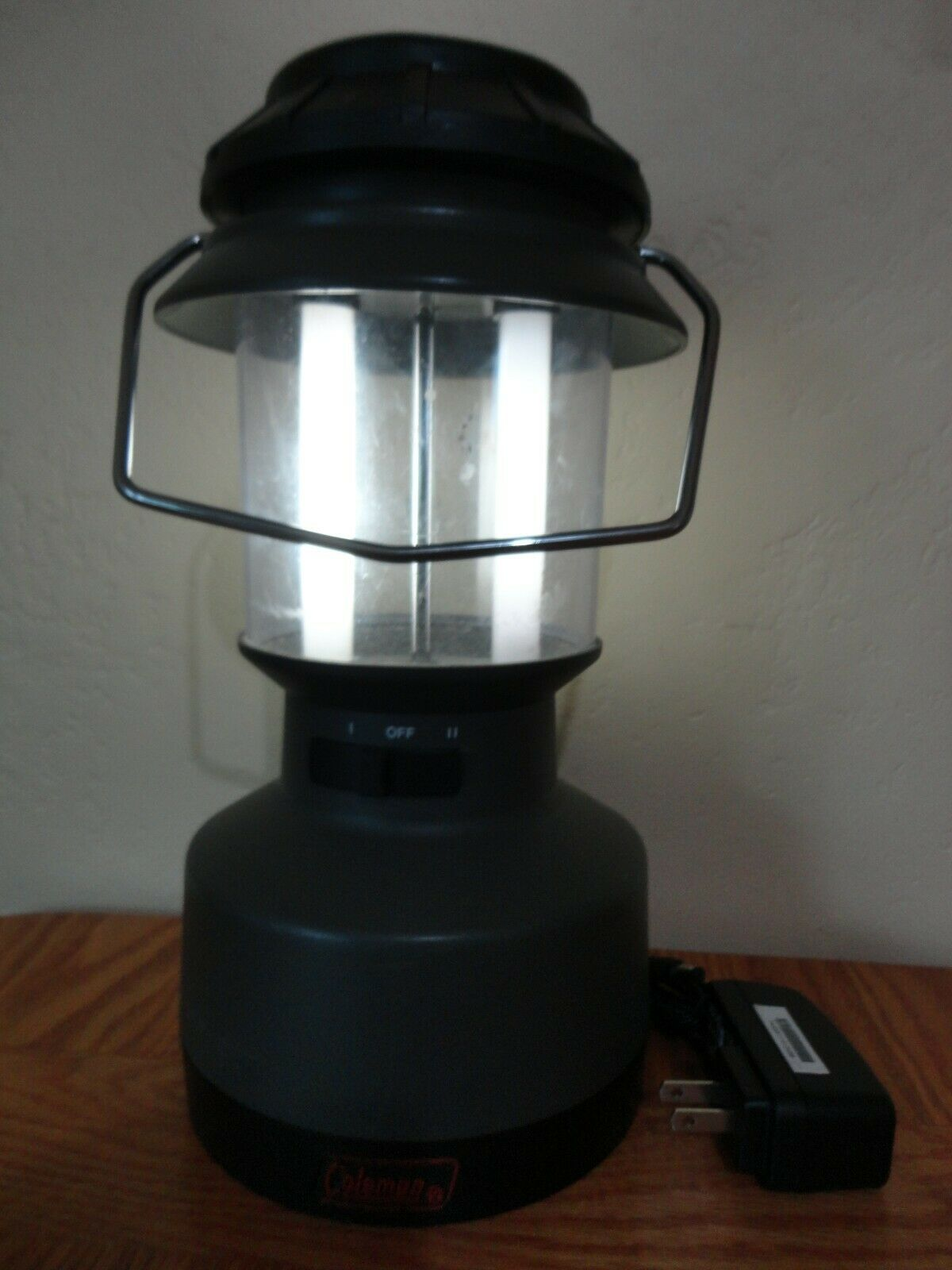 Coleman Rechargeable Electric Twin Tube Fluorescent Lantern Lamp 5348 700 For Sale Online