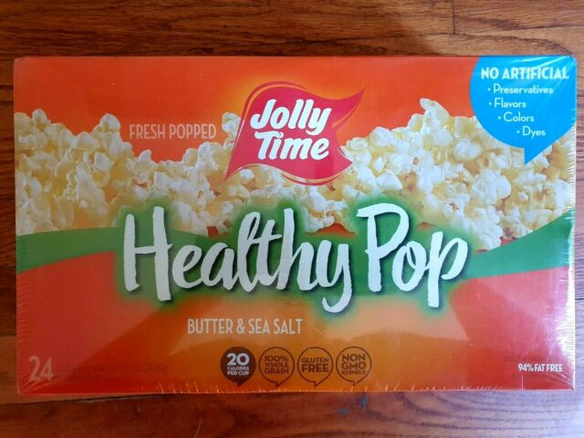 jolly time healthy pop butter 94 fat weight watchers microwave popcorn