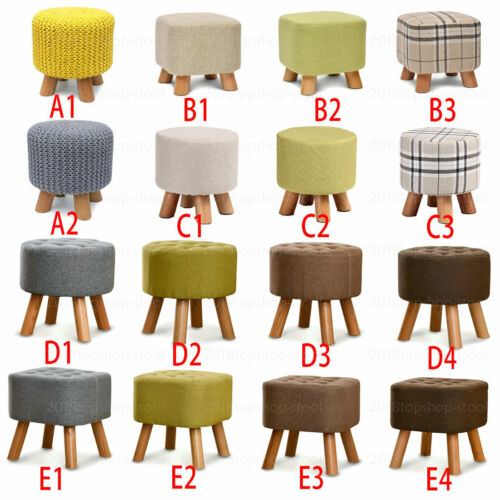 square footstool ottoman pouffe padded chair foot stool seat big small round sfhs org
