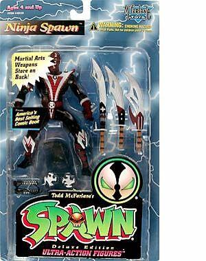 Mcfarlane Toys Spawn Series 3 Ninja Spawn Action Figure For Sale Online Ebay