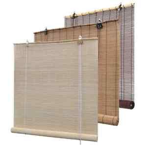details sur vidaxl store roulant en bambou rideau fenetre chambre multi taille multicolore