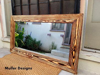 reclaimed wood mirror vanity mirror bathroom mirrors wall mirrors ebay