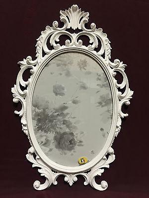 cadre d image baroque blanc ovale 43x27 antique cadre photo c531 photo ebay