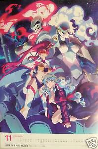 details about gurren lagann gothicmade promo poster official yoko nia anime girl cosplay