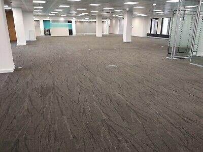 1600 x grey shaw contract 60cm x 60cm carpet tiles for 1 80 each ebay