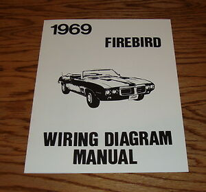 1969 Pontiac Firebird Wiring Diagram Manual 69 | eBay