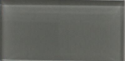 pebble grey 3x6 glass subway tiles for kitchen backsplash bathroom ebay
