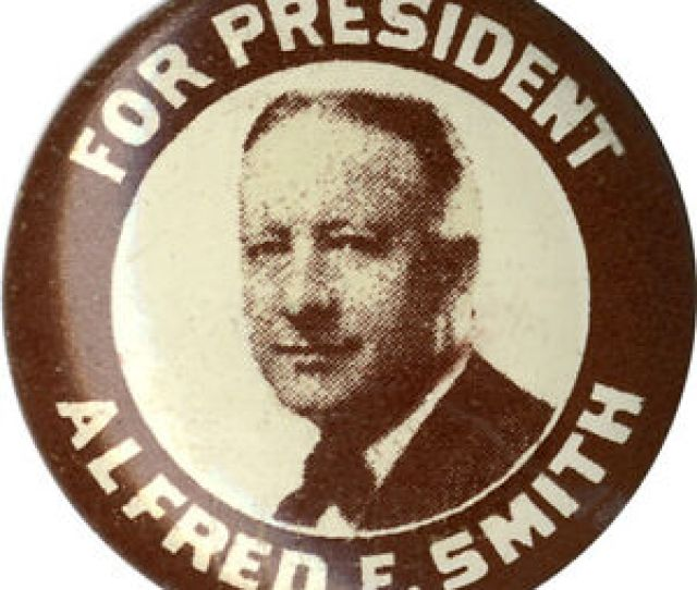 Image Is Loading 1928 Alfred E Smith For President Campaign Button