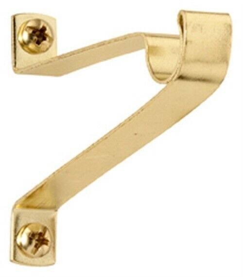 caf curtain rod bracket brass 2 clearance kenney kn828