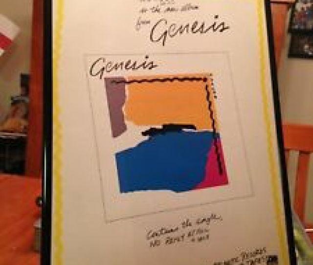 Image Is Loading Big 11x17 Framed Genesis  Amp