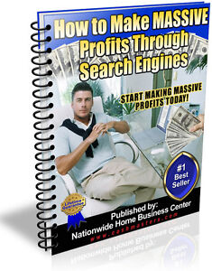 HOW TO MAKE MASSIVE PROFITS THROUGH SEARCH ENGINES PDF EBOOK RESALE RIGHTS